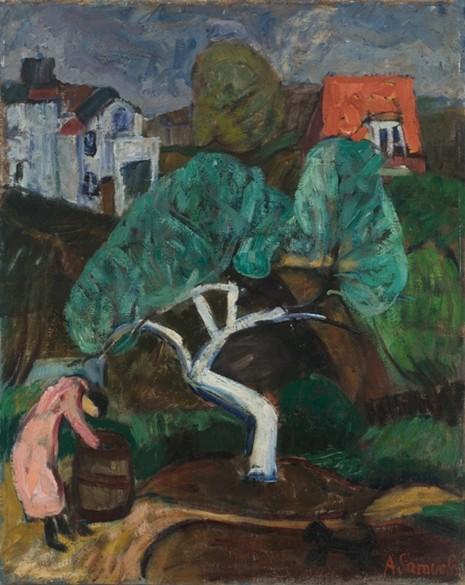Baltoji obelis. Antanas samuolis, 1932